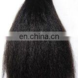 Hot sale factory cheap price high quality 100% human remy kinky stright hair extensions