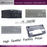 Plastic injection molding company custom high quality latest colored plastic computer keyboard cheap keyboard