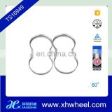 4pcs aluminum hub centric rings vehicle wheel spacer