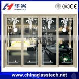Customized Aluminium Sliding Glass Door Villa Entrance Modern Simple Living Main Room Door Design