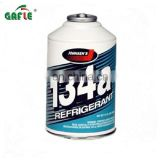 car AC no residue cooling refrigerant gas r134a in can Image