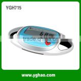 Mini Heart Rate 3D Sport Pedometer 3d Multifunctional Sports Pocket Pedometer Smart 3D Pedometer Activity Tracker