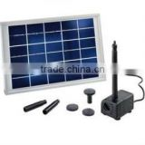 5W Hot Selling Super Pond DC Brushless Solar Pump for Small Pond