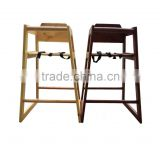 solid wood high chair/baby high chair/protection children eat chair