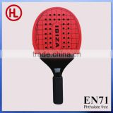 2015 new arrival Hot sale square wooden beach tennis racket /beach bat /beach paddle set with holes with beach ball wholesale