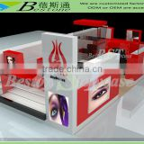 Hot sale Bestone eyebrow threading kiosk in mall