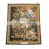 Handknotted Aubusson Carpet Wool Tapestry