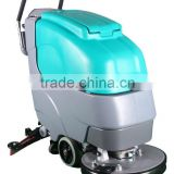 CE approved commercial micro walk behind floor washing machine