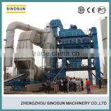 Continuous Type Portable Drum Mix Asphalt Plant 60 - 80 ton | hour