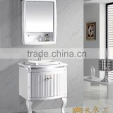 pvc bathroom wash basin cabinet, small bathroom cabinet,wash basin mirror cabinet(EAST-25111)