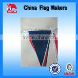 Custom Triangle Flag Bunting Printing For Promotion