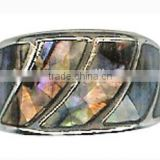 Silver Plated Beautiful Jewelry Ring Shell Crystal Bridal Beach Wedding Ring fashion charming lady's rings