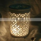 Multiple oil mosaic candle holder