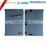 Blue Jeans Cloth Smart Case With Stand For Kindle Fire HDX 8.9 Inch