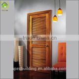 Exterior lowes louvered wood door