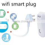 Wifi Power Plug US Socket/Plug Wireless Smart Home Automation in 2015 excellent quality design wifi ac socket\/plug factory