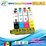 For Epson with chip T1281 T1282 T1283 T1284 China factory direct supply compatible ink cartridge for Epson SX125