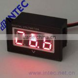 Mini voltmeter,Electrical instrument Voltmeter DC 15~120V ,LED voltmeter waterproof voltage meter