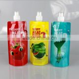 Custom nice and cute foldable/folding/collapsible bpa free water bottle with best quality