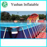 outdoor gaint bracket inflatable pools