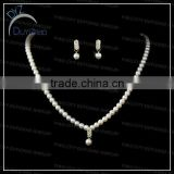 Fashion simple but nice bridal Pearl jewelry set