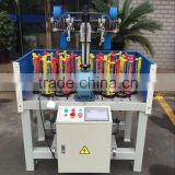 servo motor on take up 130 series 16 spindle bungee cord/skipping rope/climbing rope manufacturing machine price