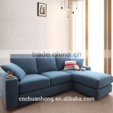 newly design popular modern leisure sectional sofa chair in fabric for bedrooms furniture
