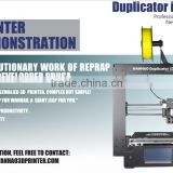 2016 New version WANHAO Duplicator I3plus FDM 3d printer hot selling                                                                         Quality Choice