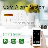 Best Selling burglarproof burglar alarm system, Home Security System support 116 wireless sensors