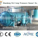 stainless steel bladder tank / pressure vessel