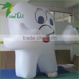 3.5M High Most Poplular PVC Customized Shape Inflatable Promotion Tooth Balloon