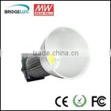 Bisu 240w ip65 led high bay light Bridgelux led Mean Well driver with reflector of rear bumper