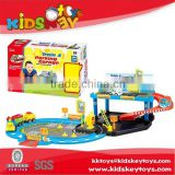 2015 games children's car parking garage toy Cartoon train for kids