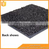 good grade high elasticity rubber floor mat sheet with 15% EPDM speckles Qingdao factory supply best price