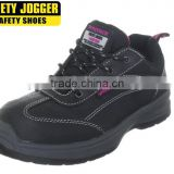 Safety Jogger full baffalo leather PU outsole lady line safety shoes