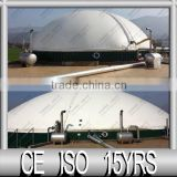 Double Membrane Anaerobic Tank Cover for Storage of the Biogas