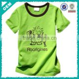 2014 soft child t-shirt , comfortable kid clothing , new printing babies t-shirt in factory (lyt0300061)