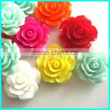 Plastic Flower ,Gifts Decoration Finding ,Flat back Resin Flower