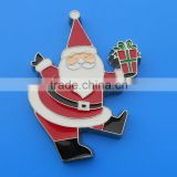 Santa Claus fridge magnet christmas for promotional gifts (Box-metal fridge magnet-213b)