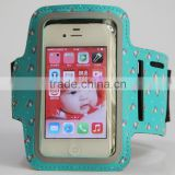 hot-sale soft waterproof neoprene phone armband running cell phone armband low price gym mobile