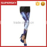V-861 latest Spring and summer hot sell fashion legging digital printed sublimated women pant