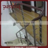 type of wood stair railings/indoor wood railing designs