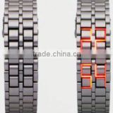 hot sale quartz stainless steel watch water resistant