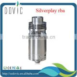 silverplay rta clone without logo in black and silver