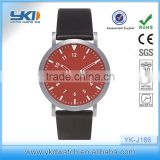 New model consise casual waterproof watch leather interchangeable belt casual waterproof watch