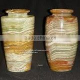 Multi Green Onyx Vase in wholse sale