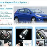 PKE Push Button Start Remote Keyless Starter Car Alarm System for Hyundai Accent