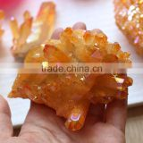 Rough Orange Quartz Crystal Angel Aura