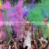 Non-explosive holi color powder Starch Non-toxic running powder Pure Natural holi color powder