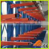 Free sample testing plastic coated pipe racking, warehouse shelving cantilever racks, warehouse pipe rack system